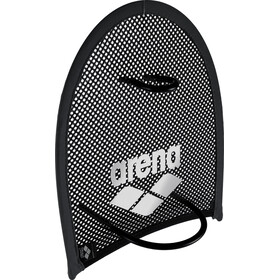arena Flex Hand Paddle, black-silver